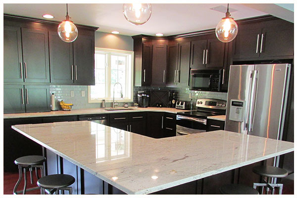 Custom Kitchen Cabinet Refacing in Avon, Connecticut